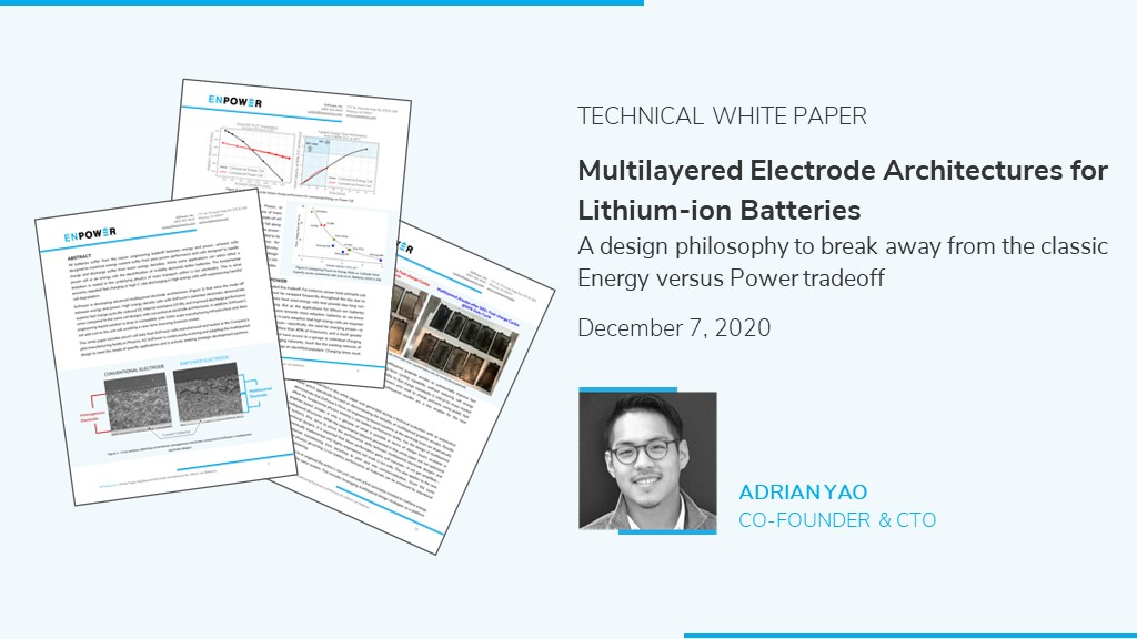 Technical white paper on lithium-ion battery technology