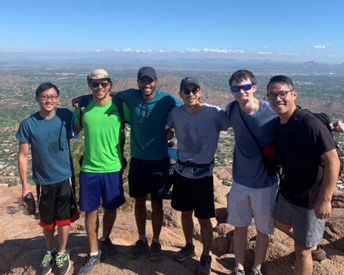 EnPower Team Hiking